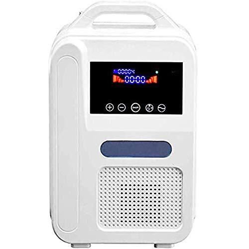 HIMFL Tragbarer Sauerstoffkonzentrator Luftreiniger Beatmungsgeraet Schlaf Sauerstoffmaschine O2 Generatoren fuer den - Beatmungsgerät