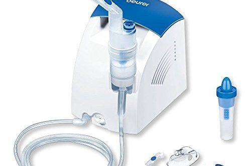 Beurer IH 26 Inhalator & Nasendusche mit Kompressor: zur Behandlung von Atemwegserkrankungen wie Erkältung & Bronchitis